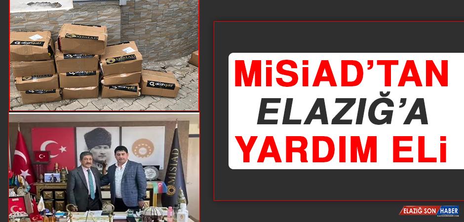 MİSİAD'tan Elazığ'a Yardım Eli