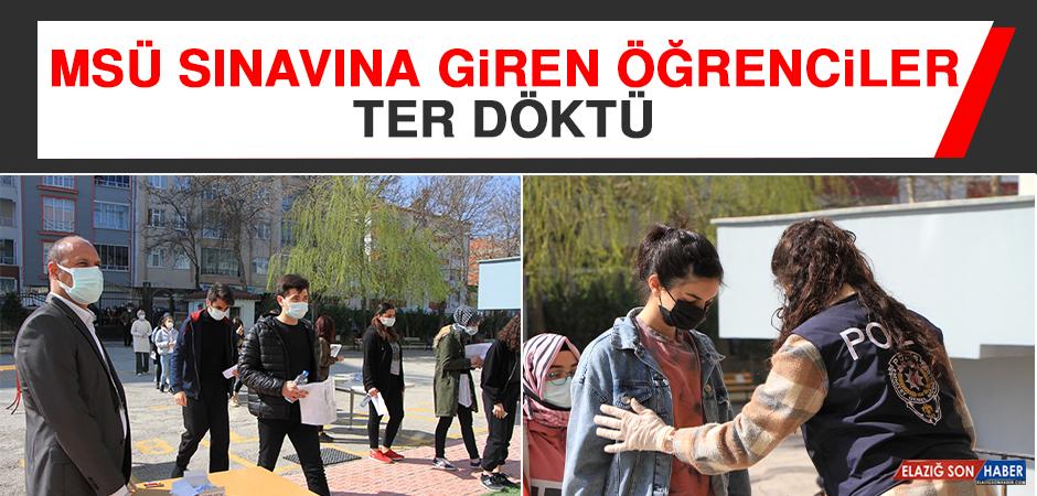 Milli Savunma Üniversitesi Sınavına Giren Öğrenciler Ter Döktü