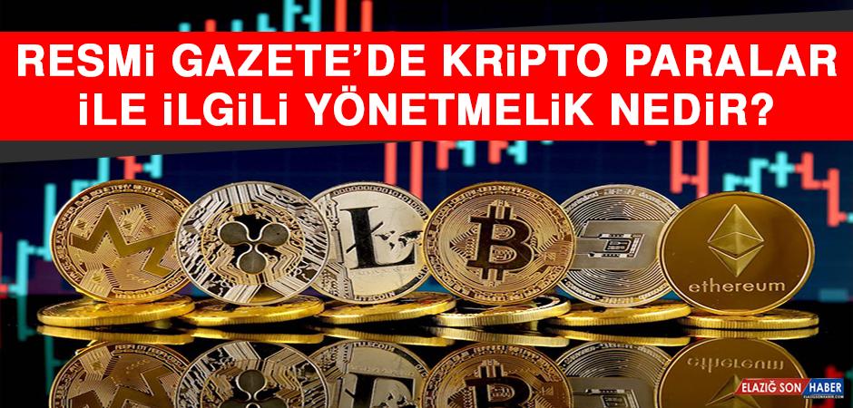 Resmi Gazete'de Kripto Paralar İle İlgili Yönetmelik Nedir?