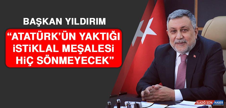 AK Parti İl Başkanı Yıldırım'dan 19 Mayıs Mesajı