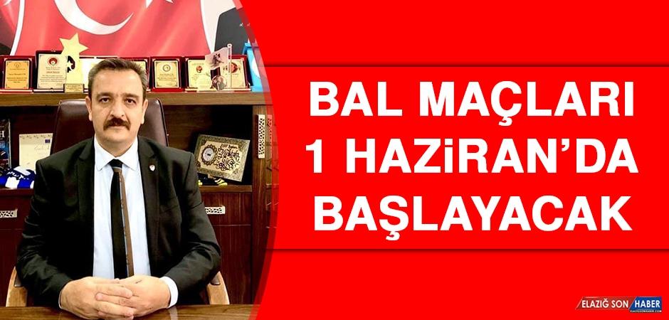 EASKF Başkanı Gür Duyurdu: BAL Maçları 1 Haziran'da Başlayacak