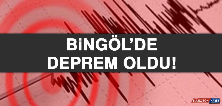 Bingöl'de Deprem Oldu!