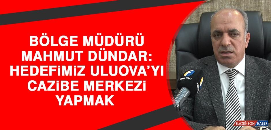 Dündar: Hedefimiz Uluova'yı Cazibe Merkezi Yapmak