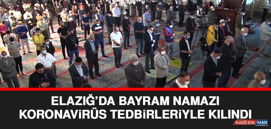Elazığ'da Bayram Namazı Kılındı