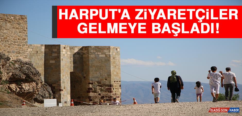 Elazığ'ın Turizme Açılan Kapısı Harput'a Ziyaretçiler Gelmeye Başladı