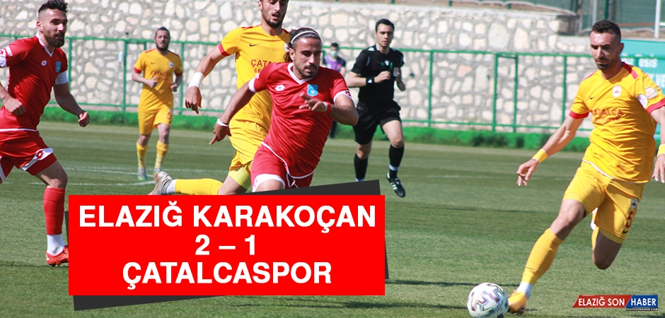 Elazığ Karakoçan 2 – 1 Çatalcaspor