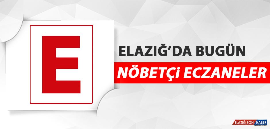 Elazığ'da 2 Mayıs'ta Nöbetçi Eczaneler