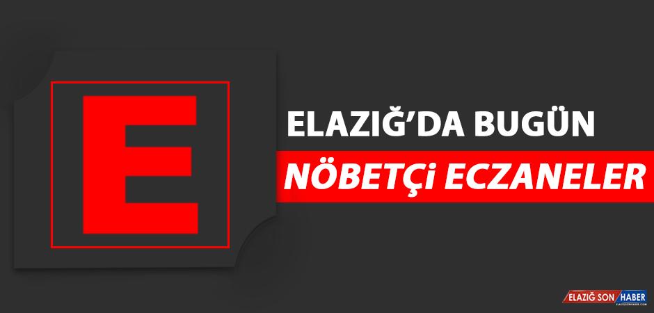 Elazığ'da 4 Mayıs'ta Nöbetçi Eczaneler