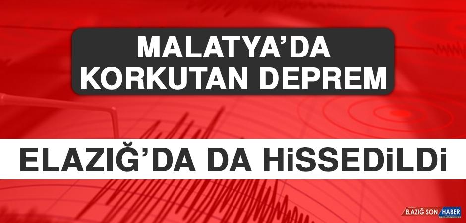 Malatya'da Korkutan Deprem!