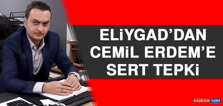 ELİYGAD'dan Cemil Erdem'e Sert Tepki