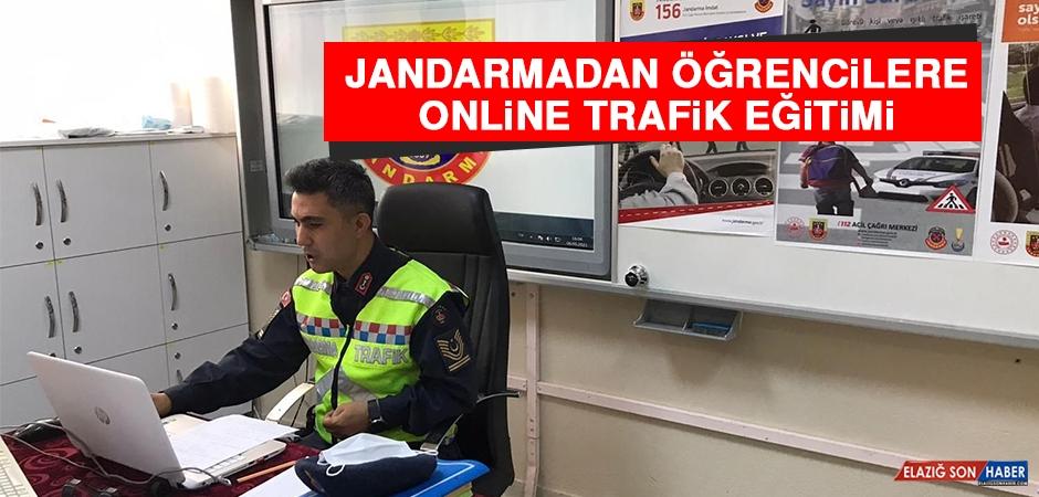 Jandarmadan, Öğrencilere Online Trafik Eğitimi