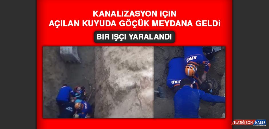 Kanalizasyon İçin Açılan Kuyuda Göçük Meydana Geldi