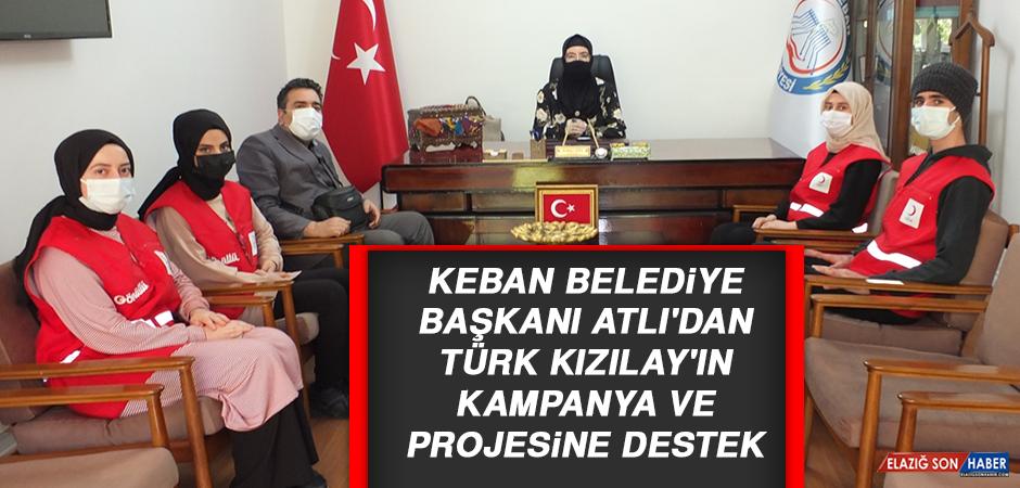 Başkan Atlı'dan Türk Kızılay'ın Kampanya ve Projesine Destek