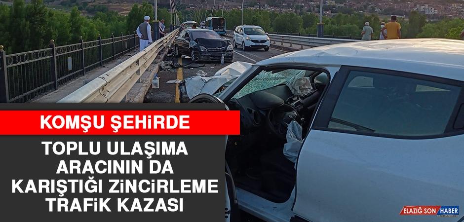 Komşu Şehirde Zincirleme Trafik Kazası