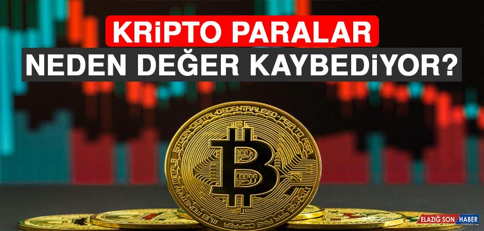 Kripto Paralar Neden Değer Kaybediyor?