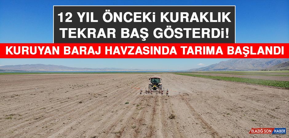 Kuruyan Baraj Havzasında Tarıma Başlandı