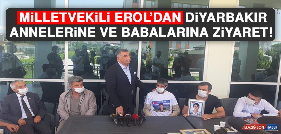 Milletvekili Erol'dan Diyarbakır Annelerine ve Babalarına Ziyaret