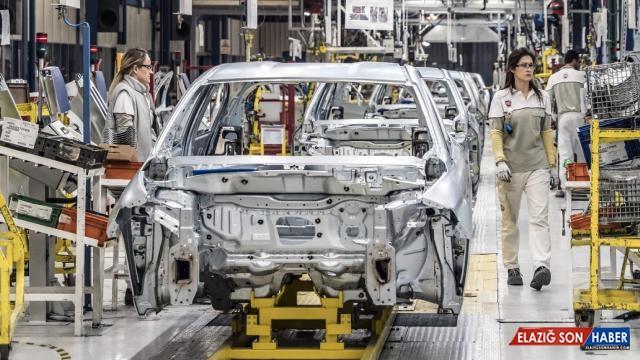 Otomotiv sektöründe üretim ilk çeyrekte yüzde 28 arttı