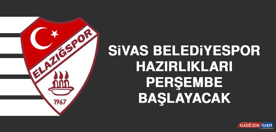 Sivas Belediyespor Hazırlıkları Perşembe Başlayacak