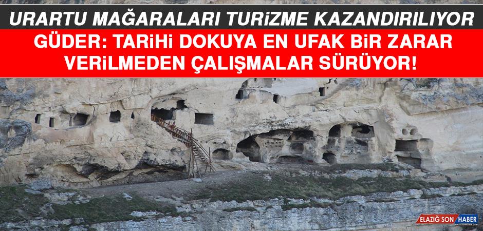 Urartu Mağaraları Turizme Kazandırılıyor!