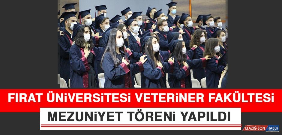 Fırat Üniversitesi Veteriner Fakültesi Mezuniyet Töreni Yapıldı