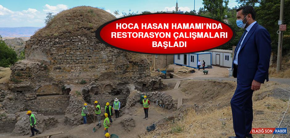Hoca Hasan Hamamı'nda Restorasyon Çalışmaları Başladı