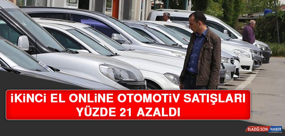 İkinci El Online Otomotiv Satışları Yüzde 21 Azaldı