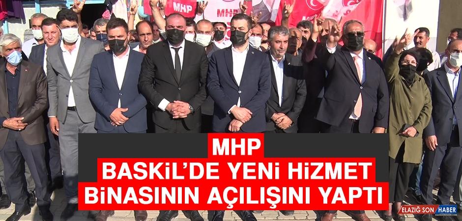 MHP, Baskil'de Yeni Hizmet Binasının Açılışını Yaptı