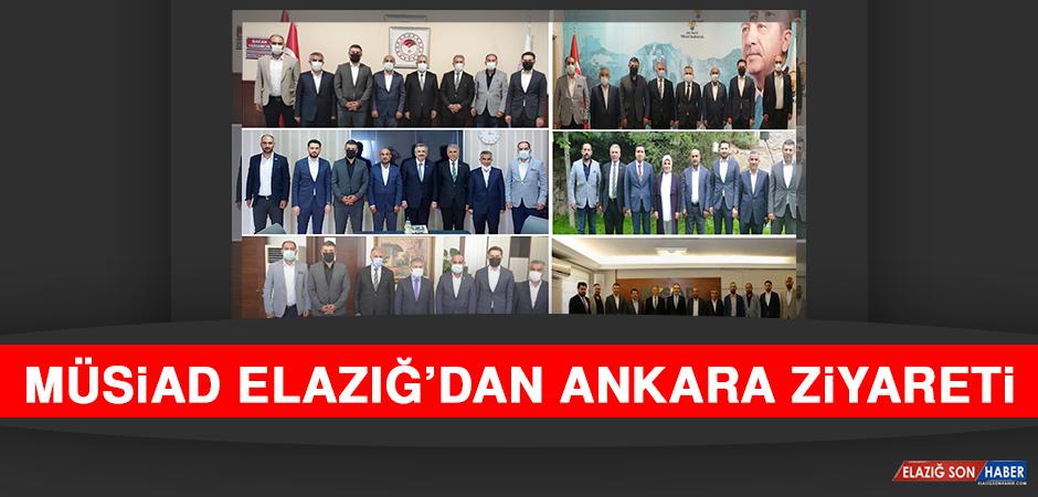 MÜSİAD Elazığ'dan Ankara Ziyareti