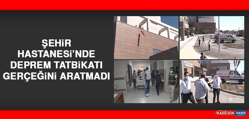 Şehir Hastanesi'nde Deprem Tatbikatı Gerçeğini Aratmadı