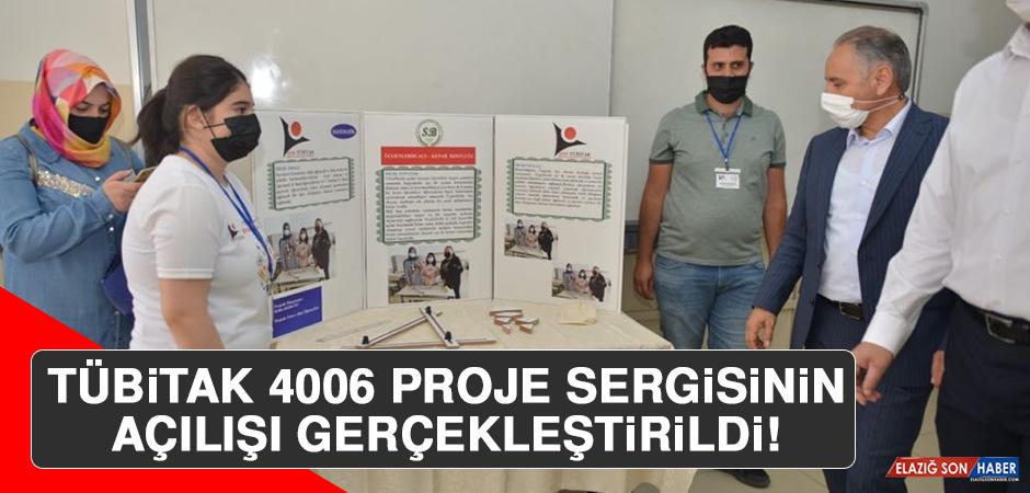 TÜBİTAK 4006 Proje Sergisinin Açılışı Gerçekleştirildi