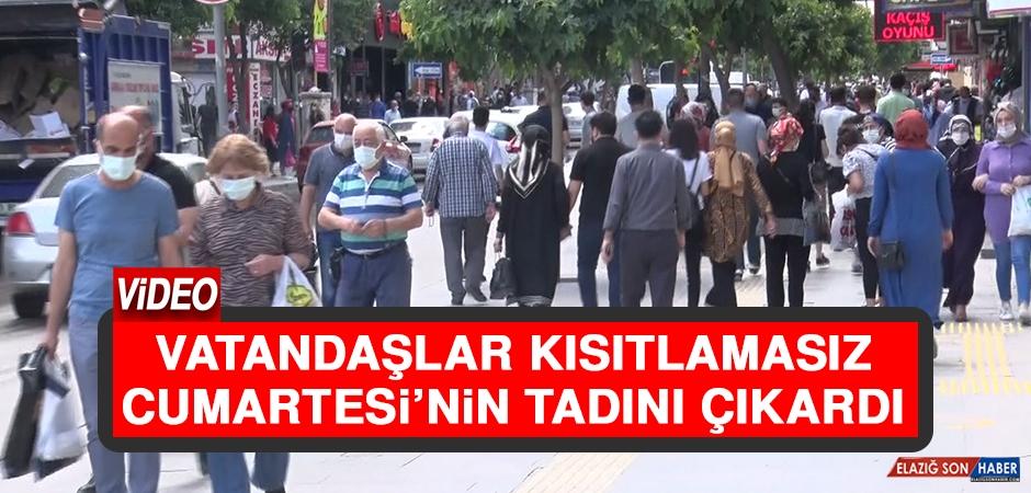 Vatandaşlar Kısıtlamasız Cumartesi'nin Tadını Çıkardı