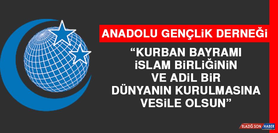 AGD: Kurban Bayramı, İslam Birliğinin ve Adil Bir Dünyanın Kurulmasına Vesile Olsun