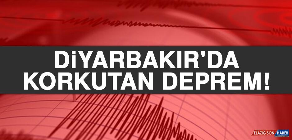 Diyarbakır'da Korkutan Deprem