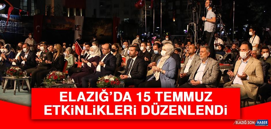 Elazığ'da 15 Temmuz Etkinlikleri Düzenlendi