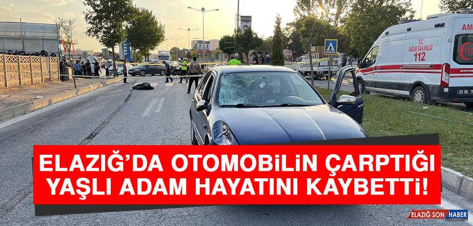 Elazığ'da Otomobilin Çarptığı Yaşlı Adam Hayatını Kaybetti