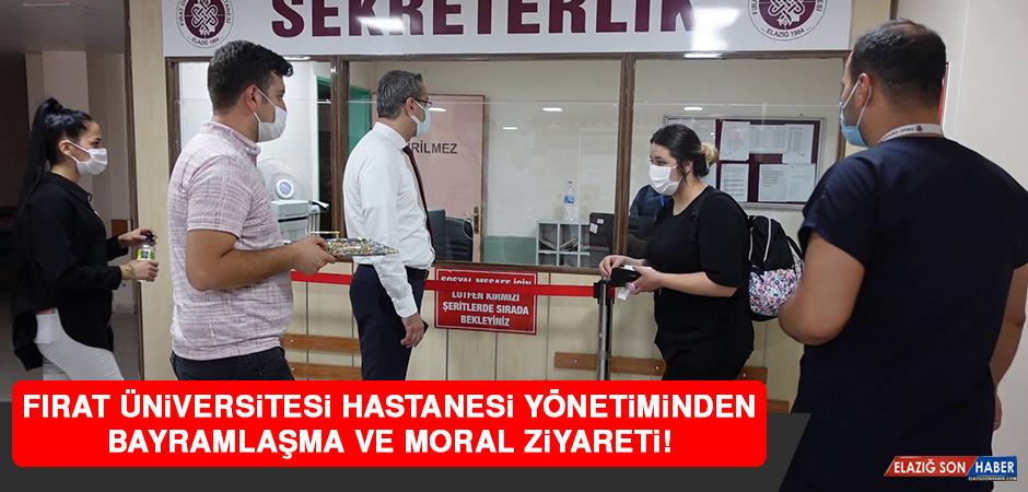 Fırat Üniversitesi Hastanesi Yönetiminden Bayramlaşma ve Moral Ziyareti