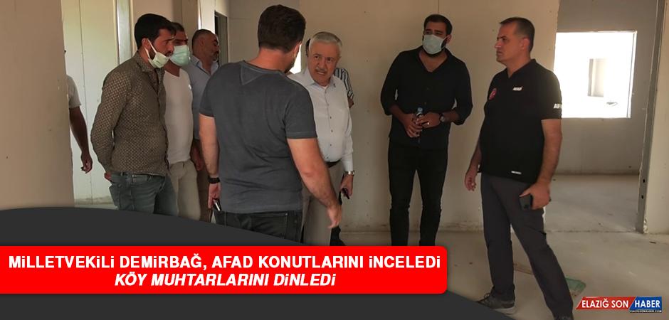 """Milletvekili Demirbağ: """"Her muhalefet lideri seçim istediğinde seçime gidilmez"""""""