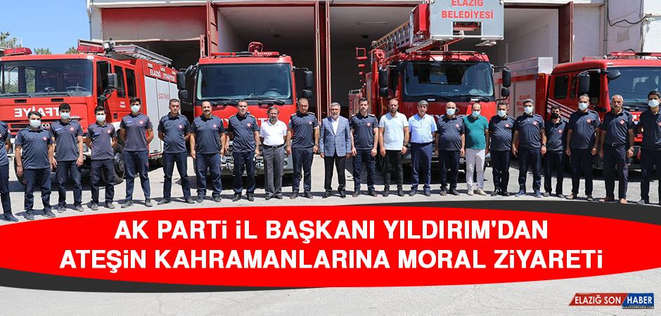 AK Parti İl Başkanı Yıldırım'dan Ateşin Kahramanlarına Moral Ziyareti