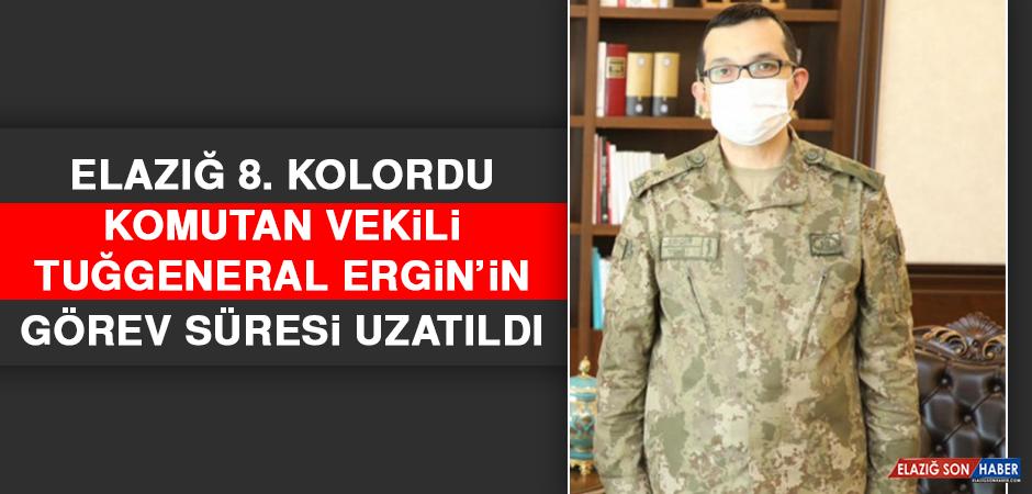 Elazığ 8. Kolordu Komutan Vekili Tuğgeneral Ergin'in Görev Süresi Uzatıldı