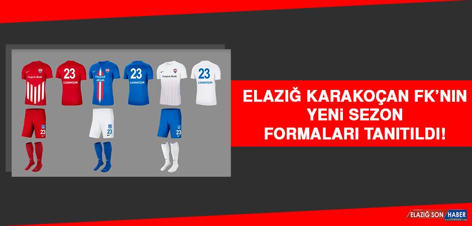 Elazığ Karakoçan FK'nın Yeni Sezon Formaları Tanıtıldı