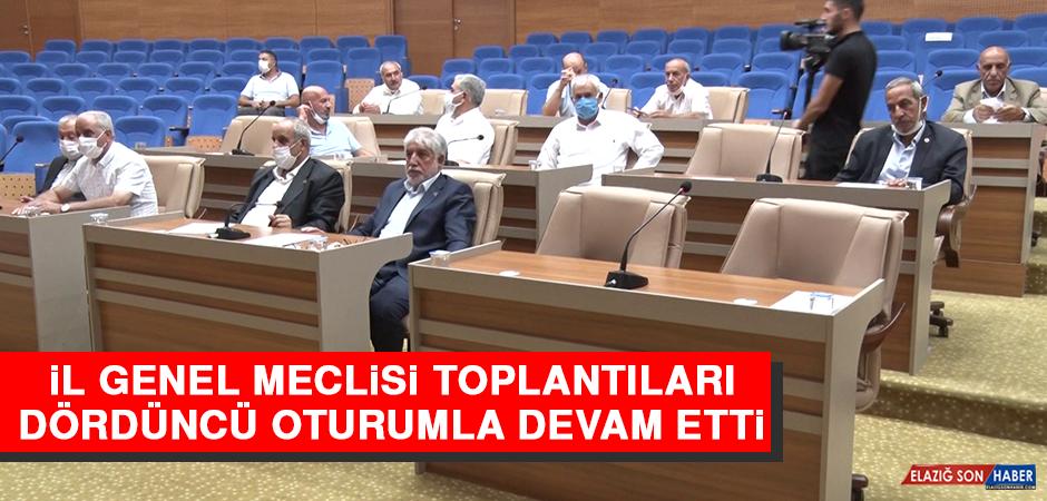 İl Genel Meclisi Toplantıları Dördüncü Oturumla Devam Etti