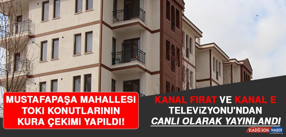 Mustafapaşa Mahallesi TOKİ Konutlarının Kura Çekimi Yapıldı!