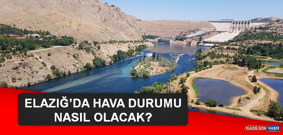 13 Eylül'de Elazığ'da Hava Durumu Nasıl Olacak?