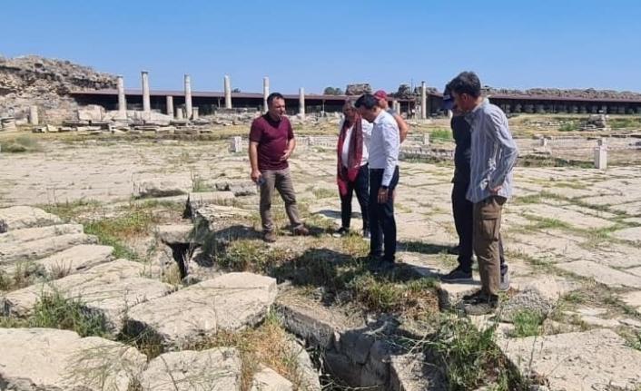 2 bin yıllık kanalizasyon sistemi devreye sokuldu