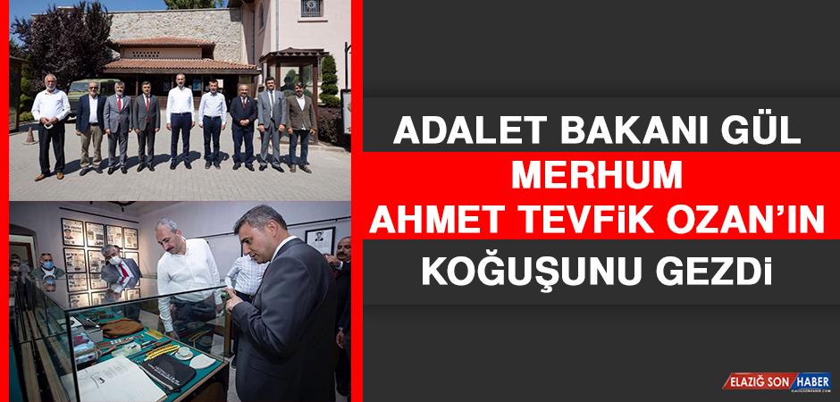 Adalet Bakanı Gül, Merhum Ahmet Tevfik Ozan'ın Koğuşunu Gezdi