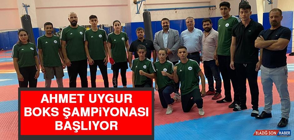 Ahmet Uygur Boks Şampiyonası Başlıyor