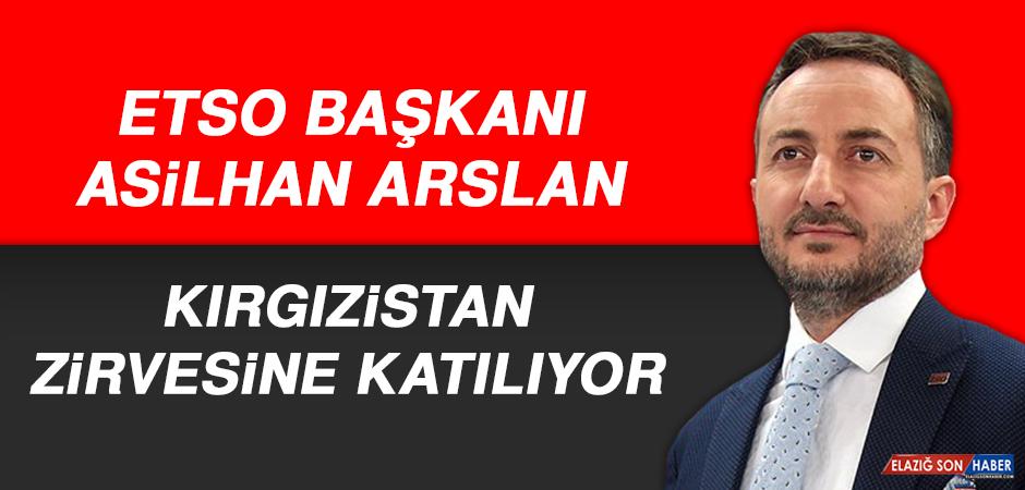 Başkan Arslan, Kırgızistan Zirvesine Katılıyor