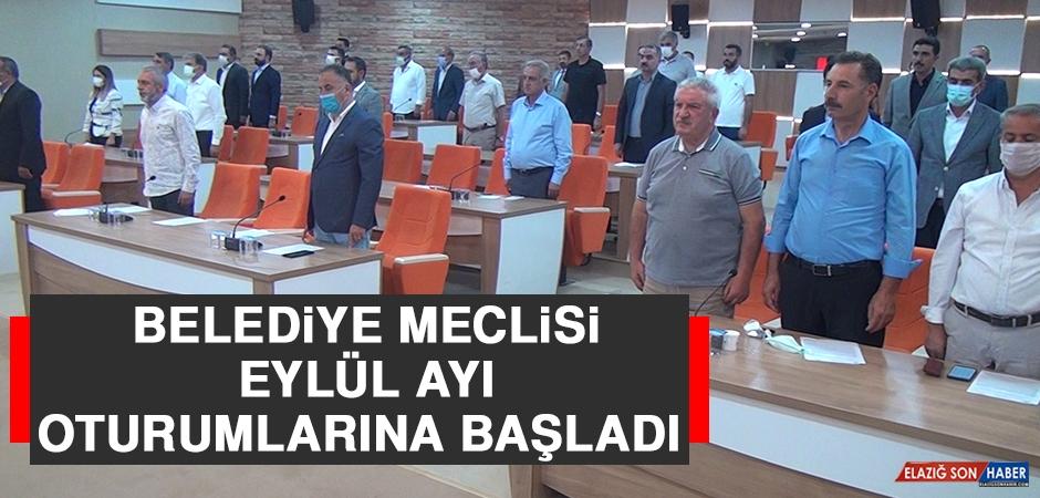Belediye Meclisi Eylül Ayı Oturumlarına Başladı