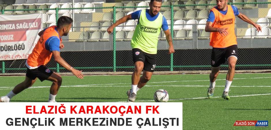 Elazığ Karakoçan FK, Gençlik Merkezinde Çalıştı